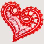 «Валентинка» для кружевниц-мастериц