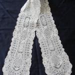 Старинные брюссельские кружева-шарфы и шали