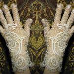 Плетем перчатки, мастер-класс для профессионалов