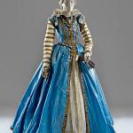 Шикарные средневековые наряды из бумаги