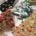 Винтажные рождественские украшения